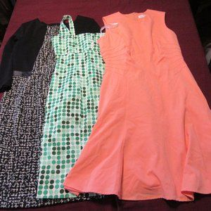 Womens Calvin Klein Dress Lot Size 8